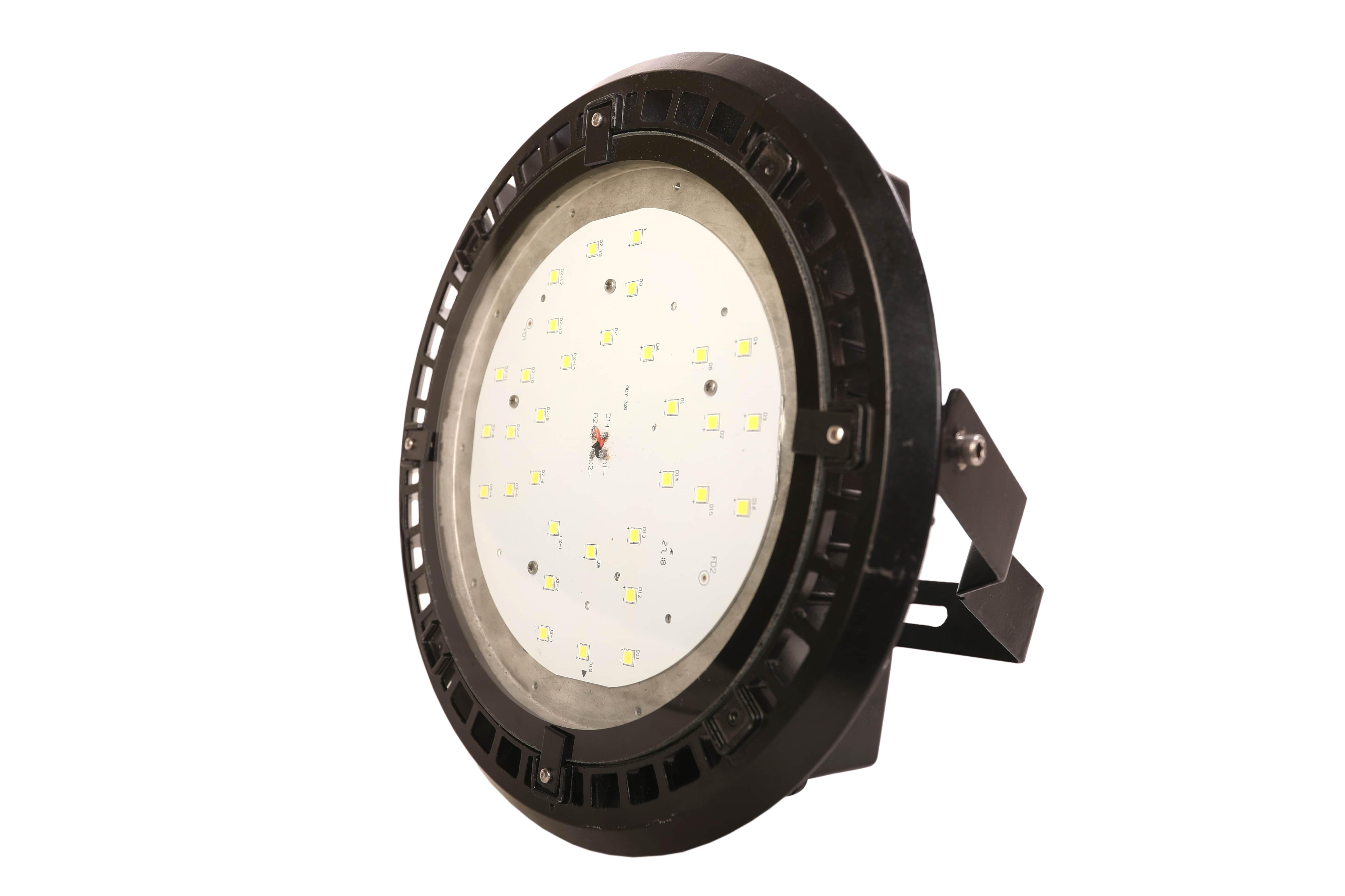 150w LED High Bay Light Round-Glass-6-min